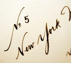 <3 calligraphy