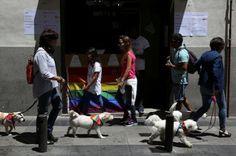 Orgullo Periferia también existe. A las 12.00 partirán tres marchas desde Villaverde, Fuencarral y Carabanchel-Latina para reivindicar un Orgullo descentralizado. Fátima Elidrissi | El Mundo, 2017-07-01 http://www.elmundo.es/madrid/2017/07/01/59568a57e2704e36348b45c1.html