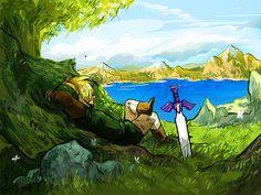 Journey Aside by some-hipster - The Legend of Zelda