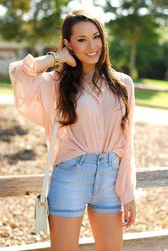 Carol Ri  Vodpod: Pretty pink blouse #Lockerz