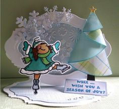 this card is so dang cute.  Check out her blog, some cool stuff