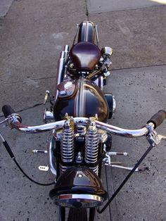 Harley-Davidson Panhead rigid