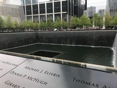 On May 13, 2018 we visited the 9/11 memorial in NYC....