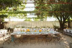 Bardiva wedding reception  family style seating + wildflower table decorations? perfect for @Emma Humphreys