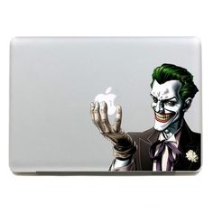 Kujian Clown Creative Decorative Decals Stickers for Apple Mac Macbook Air Pro Laptop Stickers Current 11 13 15 17 inches Macbook Pro Decal, Macbook Stickers, Macbook Pro Case, Macbook Air Pro, Laptop Case, Laptop Skin, Apple Mac, Macbook Colors, Mac Decals