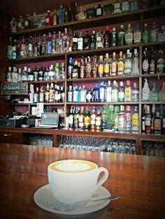 Cafecito en Café Bar Real - Logroño