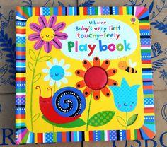 Călători printre cărți: Usborne Baby's very first touchy-feely play book -...