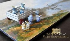 News & Stories — Petit Connoisseurs News Stories, Miniatures, Painting, Collections, Painting Art, Mini Things, Paintings, Mockup, Painted Canvas