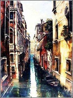 Venice 1 by artist Constantin Paunescu