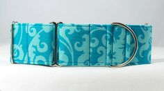 Ocean Filigree Dog Collar Martingale Buckle or Tag by dogsbythebay, $19.99