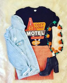 Cute Disney Outfits, Disney World Outfits, Disney Themed Outfits, Outfits For Teens, Summer Outfits, Cute Outfits, Disney Clothes, Disney Fashion, Emo Outfits