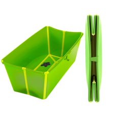 Prince Lionheart Flexibath Foldable Bathtub, Green (Discontinued by Manufacturer)