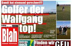 "Wallgang auf dem ""Titelblatt""!"