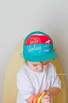 DIY Glitter Text to Hat made with Cricut Explore -- Happy Together. #DesignSpaceStar Round 2
