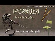 Fósiles (Saint-Saëns) - Ritmo para silla y palillos - YouTube