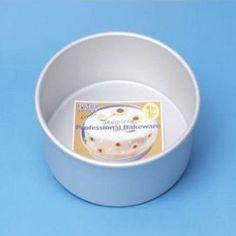 "Pme 5X3"" Round Circle Aluminium Mold Mould Cake Decorating Baking Tin Pan Tray"