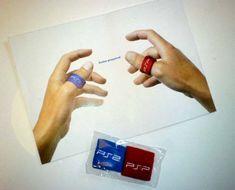 PlayStation finger sweatbands by Ray Pluim, via Behance repinned by www.BlickeDeeler.de