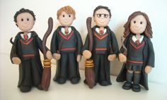 FImo Harry Potter Birthday Toppers