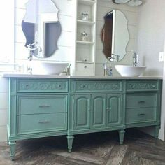 Vanity like this for master?  Guest bath?