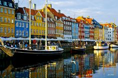 Are you finally going to visit one of the coolest cities in Europe? Here's a list of 11 things you can do in Copenhagen to understand how amazing the city is. Copenhagen City, Copenhagen Denmark, Copenhagen Travel, Places To Travel, Places To See, Capital Of Denmark, Travel Around The World, Around The Worlds, World Happiness