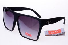 Ray-Ban Square 2128 Black Frame Gray Lens RB1051