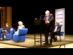 Claude Lanzmann spricht auf dem Blauen Sofa über Berlin