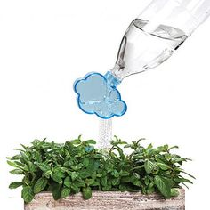 Rainmaker Plant Watering Cloud | 43 Impossibly Cute Products You'll Actually Use<-- I don't usually go to websites for stuff when I'm on Pinterest but this is worth it