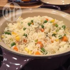 Foto de la receta: Arroz blanco con verduras