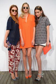 J.Crew Spring 2014 orange dress