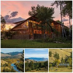 Occupying a choice location on the banks of the Bitterroot River, The Farm at McCauley Butte offers trophy architecture, proximity to urban amenities, exceptional privacy and excellent fishing! Recently listed with Hall and Hall, this 71± acre property is perfect as a year-round residence or a seasonal retreat.
