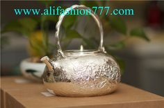 Handmade 999 Fine Silver Teapot-08,www.alifashion777.com wholesale Handmade 999 Fine Silver Teapot with high quality and low price.wholesale handmade the Silver teapot 999 fine silver for the business gift! we design and processing of personalized jewelry, jewellery for men, women jewelry, sterling silver jewelry, handmade jewelry. please contact us: skype: alifashion777 . whatsapp: 0086-186-8780-0583 if you have any question.