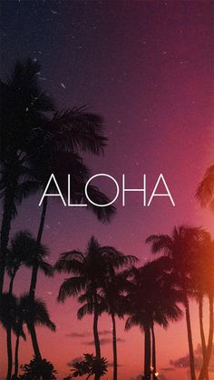 Aloha iPhone 5C / 5S wallpaper