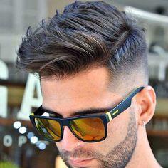 Fresh New Haircut - Fade with Side Swept Hair ...repinned vom GentlemanClub viele tolle Pins rund um das Thema Menswear- schauen Sie auch mal im Blog vorbei www.thegentemanclub.de #menshair