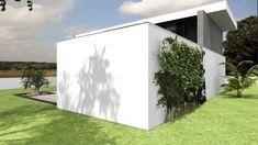 Projeto Rubi Modern Architecture, Garage Doors, Portugal, Outdoor Decor, Home Decor, Trendy Tree, Minimal Design, Tiny Houses, Modern Townhouse