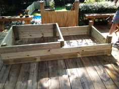 Built a two tier 8x4 raised bed