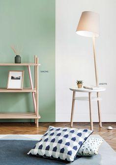 Petit coin de lecture avec Josette - #inspiration #salon #hartô #design #josette #lampe #coussin