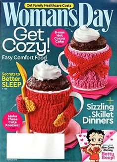 Woman's Day Magazine March 2017 | Get Cozy!