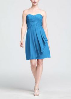 Color = Cornflower  Which color?!  Bridesmaid Dresses & Junior Bridesmaid Dresses at Davids Bridal