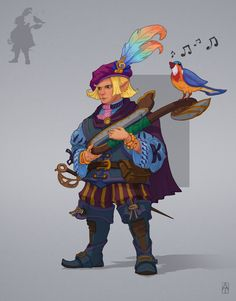 482 Best D&D Bard Male images in 2019 | Character concept, Creature