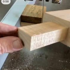 Fine Woodworking Projects Use these stop block with a magnet set into it for easy tenons!Fine Woodworking Projects Use these stop block with a magnet set into it for easy tenons! Woodworking Joints, Woodworking Workbench, Woodworking Workshop, Easy Woodworking Projects, Woodworking Techniques, Diy Wood Projects, Woodworking Shop, Woodworking Furniture, Woodworking Jigsaw