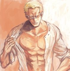 Oh my, Ive started to find Doflamingo sexy XD. Or when but I do now. Im finally starting to finish up OP and ik really likin Law and Doflamingo. Finding them really damn cute, omf 😂❤ Anime Guys, Manga Anime, Anime Art, One Piece Series, One Piece Drawing, The Pirate King, Nico Robin, One Piece Anime, Drawings