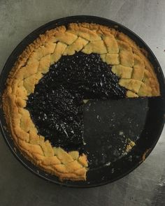 Blueberry jam pie with braided crust Blueberry Jam, Pie, Cooking, Desserts, Food, Torte, Kitchen, Tailgate Desserts, Cranberry Relish