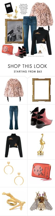"""""""Any wings can make you fly"""" by juliabachmann ❤ liked on Polyvore featuring L'Autre Chose, The Seafarer, Fabrizio Viti, PatBo, Estée Lauder and Jenny Bird"""