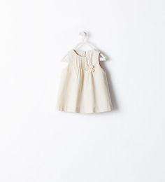 ZARA - MINI - BABY CORDUROY DRESS