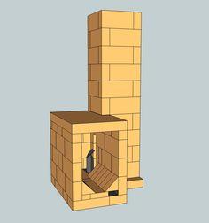 Brick sidewinder batch box rocket, simple build
