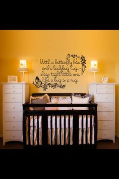 A must if baby is a girl, my girls had this in their room when they shared and then Lilly had it in hers until we moved