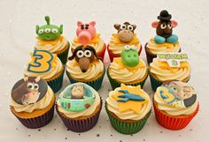 Toy story cupcakes (by Cupcakes Forever Walsall)