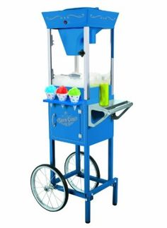 Amazon.com: Nostalgia Electrics SCC-200 Vintage Collection 53-Inch Snow Cone Cart: Kitchen & Dining