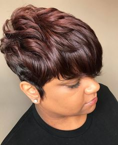 Pin by j light on short hairstyles short hair styles, hair cuts, short Short Sassy Hair, Short Hair Styles Easy, Short Hair Cuts, Medium Hair Styles, Natural Hair Styles, Natural Curls, Curly Short, Easy Hairstyles For Medium Hair, Bob Hairstyles
