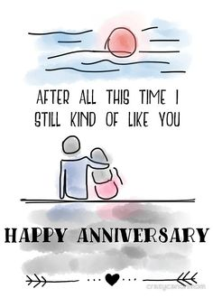 Anniversary Humor: available as t shirt, hoodie, graphic tee, stickers,  phone cases, prints, cards, posters, home décor, pillows, totes, laptop skins, duvets, coffee mugs, travel mugs, leggings, pencil skirts, scarves, tablet cases, bags, notebooks, journals, canvases, metal prints, drawstring bags, phone wallets